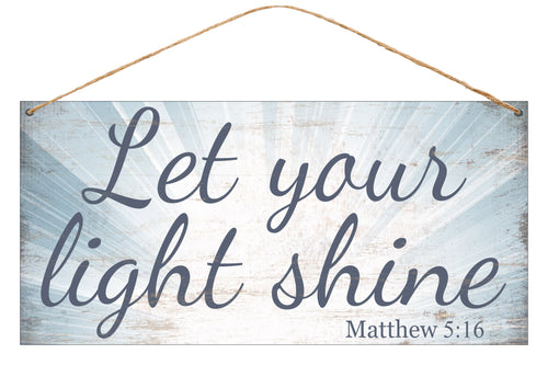 """Products – Tagged """"let your light shine sign"""" – Southern Lucy Loo"""