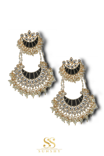 Adrianna Luxury Beaded Drop Long Earrings