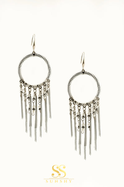 Boho Chain Drop Earrings