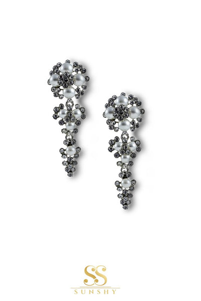 Vanessa Elegant American Diamond Studded Earrings