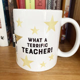 Great teacher—Gold stars for you!