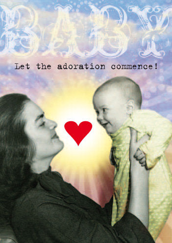 Adoration greeting card
