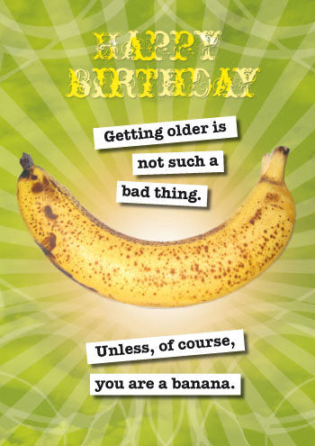 Birthday Banana