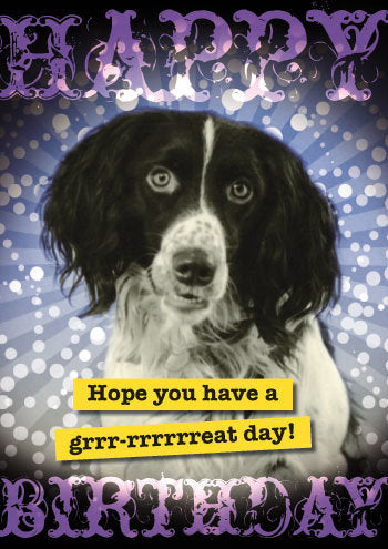 Grrrrrrrrreat! greeting card