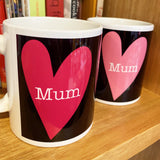 MUM with hearts (pink)