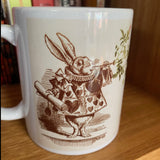 Alice in Wonderland Rabbit / Cheshire cat