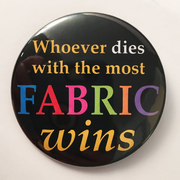 Whoever dies with the most FABRIC WINS
