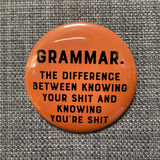 GRAMMAR is the DIFFERENCE