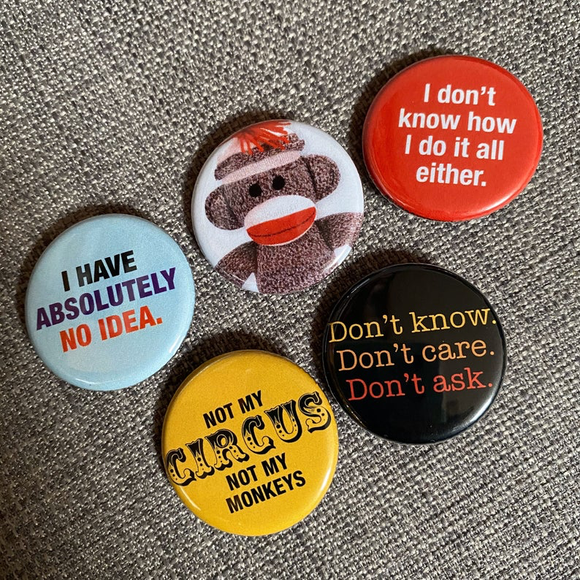 ATTITUDE badge set