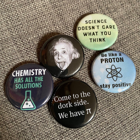 SCIENCE badge set