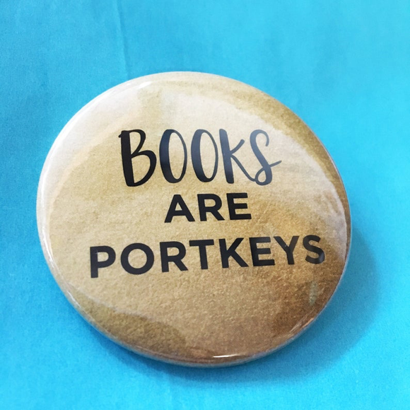 BOOKS are PORTKEYS