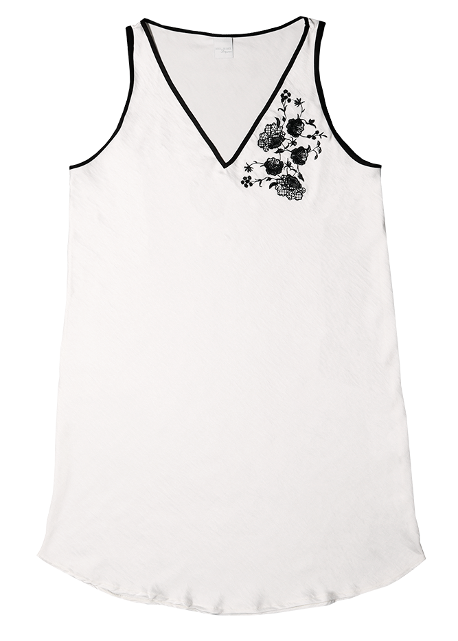 Camisola Flores Off White