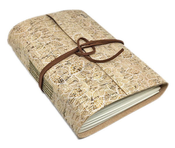 Vegan Leather Alternative Journal with Blank Pages / Cork / Leather Alternative / Ready to Ship / Vegan / Eco-Friendly Journal