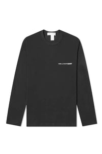 T-SHIRT BLACK LONG SLEEVE