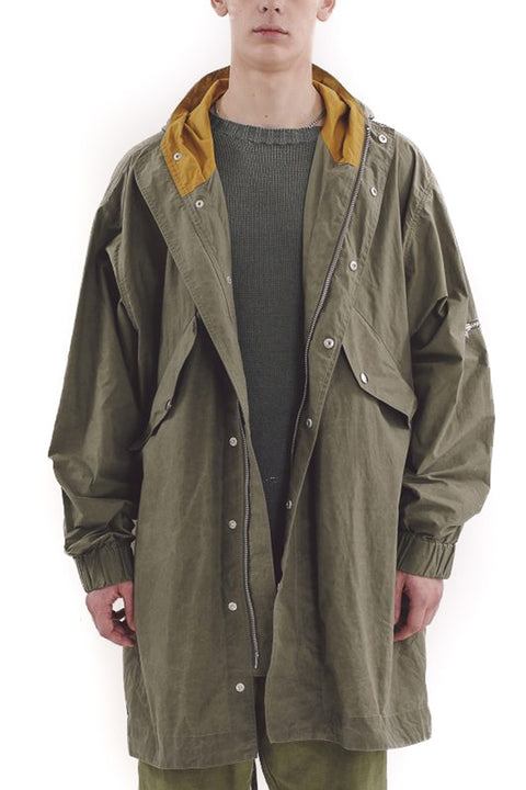 HUNTER PARKA OLIVE