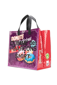 GRAPHIC LOGO PRINT TOTE BAG