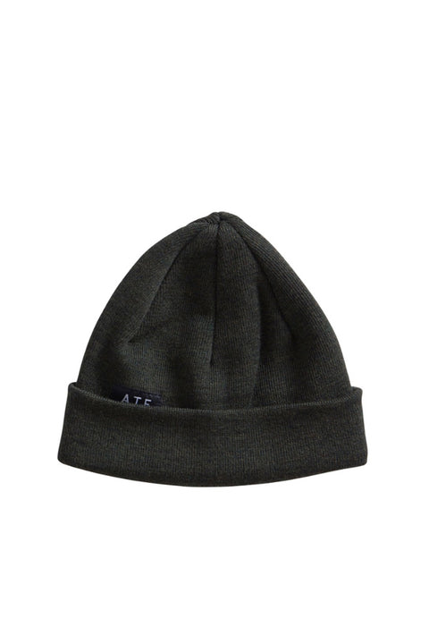 BORIS BEANIE DARK GREEN