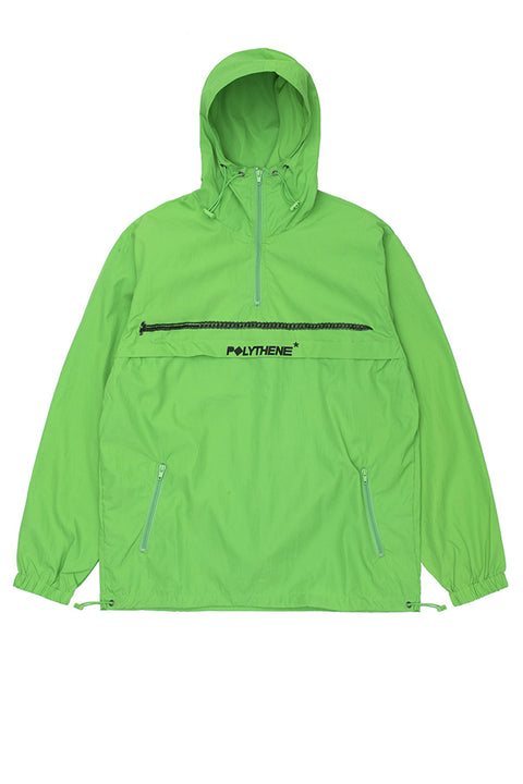 POLYTHENE* OPTICS GREEN Windbreaker Jacket