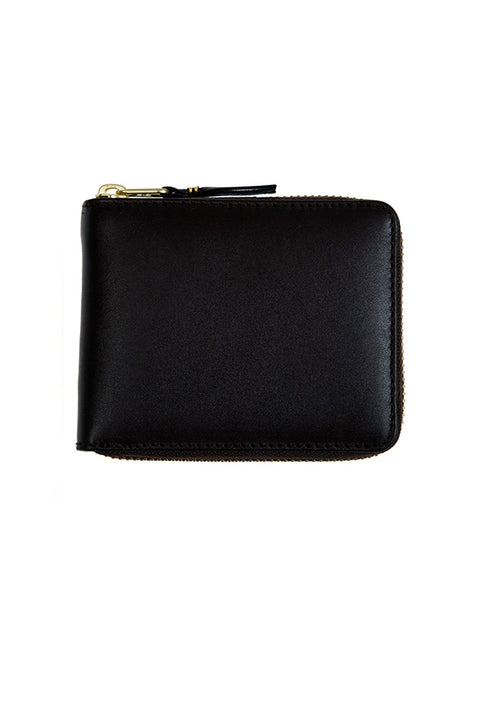 CDG Leather Wallet Classic Line (Black SA7100)