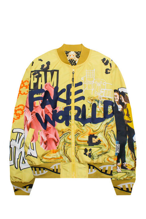 FAKE WORLD BOMBER JACKET