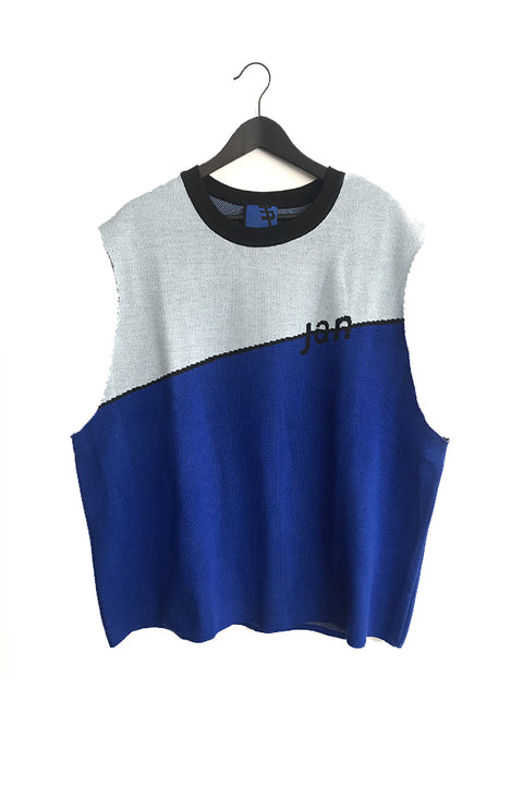 FW-20 EXCLUSIVE SLEEVELESS LOGO SWEATSHIRT