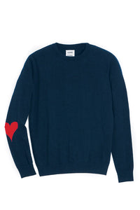 JUMPER NAVY RED