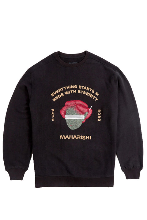 SPACE GEISHA HEMP CREW SWEAT