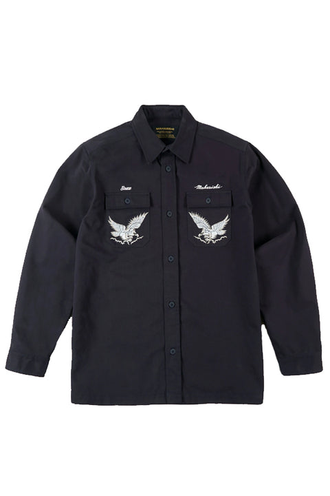 SUKA EMBROIDERED DRONE EAGLE TOUR SHIRT