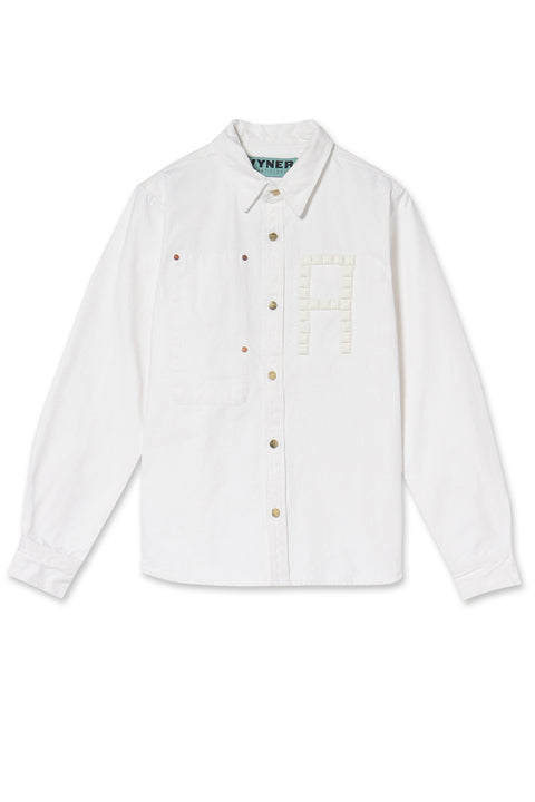 WORKER SHIRT - CANVAS STUDS