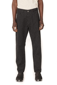 TEARAWAY COTTON TWILL PINSTRIPE JEANS