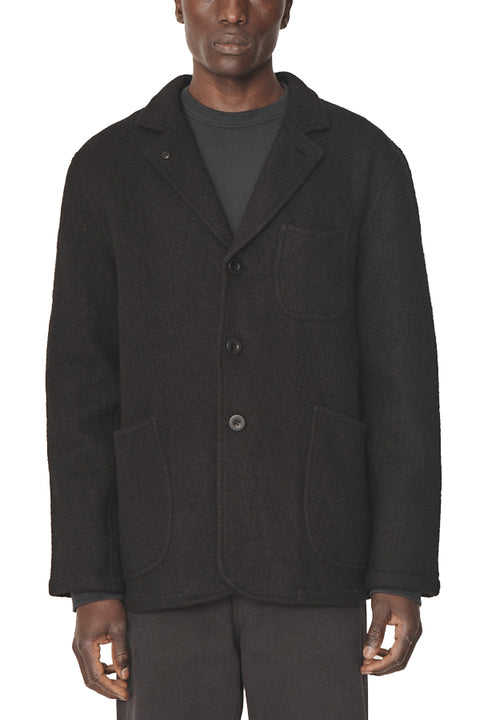 SCUTTLERS JACKET BOILED WOOL