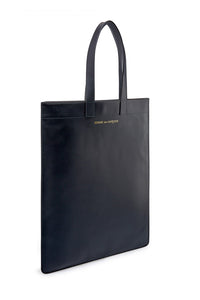 CDG CLASSIC LEATHER TOTE BAG (Black)