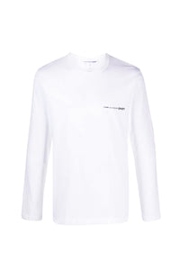T-SHIRT WHITE LONG SLEEVE LOGO