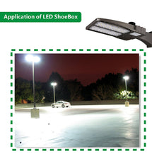 200W LED SHOEBOX (LUZ DE AREA) - 26000LM - 5700K