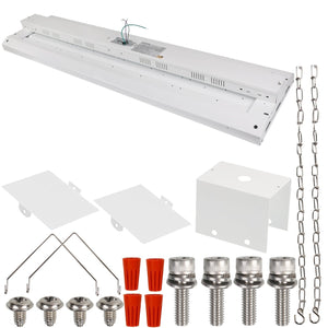4FT 160W LED LINEAR HIGH BAY INDUSTRIAL WAREHOUSE LIGHT 20800LM 5000K