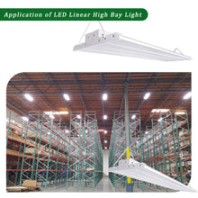 4FT 200W LED LINEAR HIGH BAY COMMERCIAL WAREHOUSE LIGHT FIXTURE 26000LM 5000K
