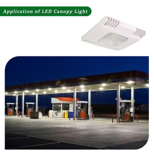 100W LED GAS STATION CANOPY OUTDOOR COMMERCIAL HIGH BAY LIGHT 13000LM 5000K (HYK)