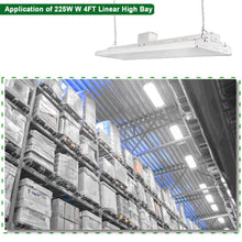 4FT 223W LED LINEAR HIGH BAY INDUSTRIAL WAREHOUSE LIGHT 29250LM 5000K