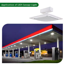 240W LED GAS STATION CANOPY OUTDOOR COMMERCIAL HIGH BAY LIGHT 31200LM 5000K (HKY)