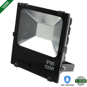 100W LED FLOOD LIGHT OUTDOOR SECURITY LIGHTING FIXTURE 10000LM 5000K