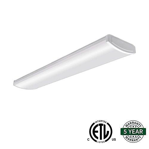 4FT 54W LED WRAPAROUND FLUSH MOUNT SHOP LIGHT 4800LM 5000K (HKY)