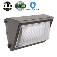 60W LED WALL PACK LIGHT PERIMETER SECURITY LIGHTING FIXTURE 7500LM 5000K (HYK)