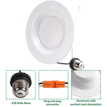 5/6 INCH 15W LED DOWNLIGHT 3000K RECESSED CAN LIGHT (HKY)