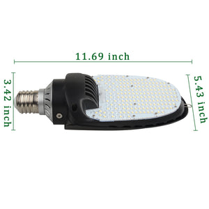 95W LED 180° CORN LIGHT E39 BULB RETROFIT KIT [300W EQUIVALENT] 11400LM 5000K