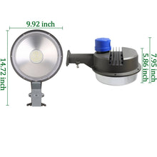 70W LED OUTDOOR SECURITY AREA LIGHT COMMERCIAL WAREHOUSE BARN LIGHT 9800LM PHOTOCELL (HYK)