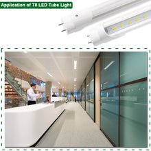 Tubo de LED de 4' 18W 1980LM 5000K ( T8/T10/T12) Optica Transparante