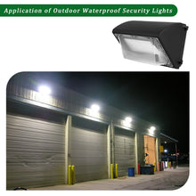 120W LED WALL PACK LIGHT PERIMETER SECURITY LIGHTING FIXTURE 15000LM 5000K (HYK)
