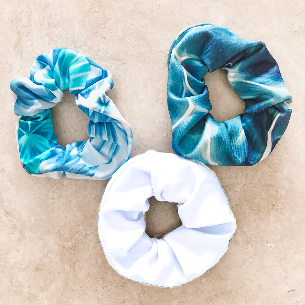 Ocean Blues Scrunchie Pack