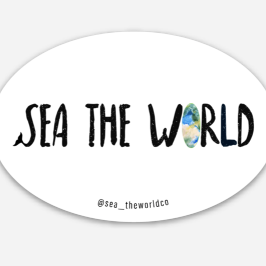Classic Sea The World Sticker