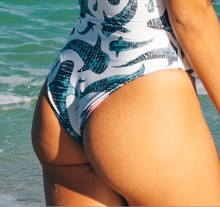 Load image into Gallery viewer, Oh Whale Reversible One Piece ~ Pearl